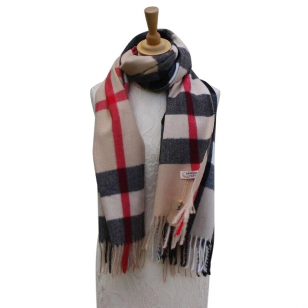 Ws004 Col#3 Burberry Style Pashmina