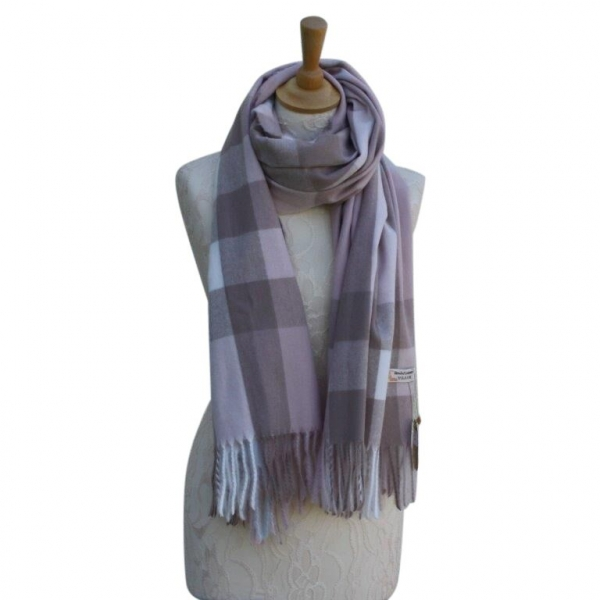 Ws004 Col#4 Burberry Style Pashmina